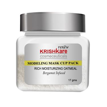 Facial Rich Moisturizing Modeling Mask Cup Pack - Oatmeal