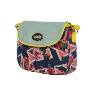Be For Bag Canvas Cycling Clutch Blue -Karis