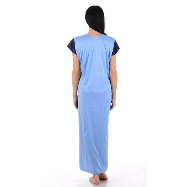 Klamotten Cotton Plain Nightwear - Turquoise - YY95