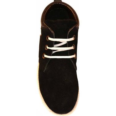 Kohinoor Canvas Boots - Black