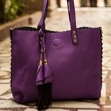 Arisha Purple Handbag -LB 388
