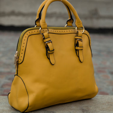 Arisha Yellow Handbag -LB 391
