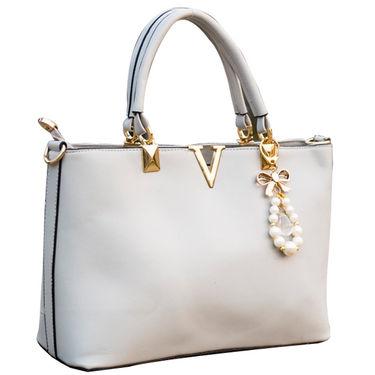 Sai Arisha PU Grey Handbag -LB506