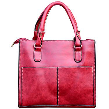 Sai Arisha PU Red Handbag -LB680