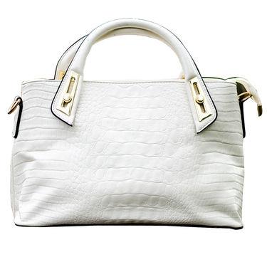 Sai Arisha PU White Handbag -LB721