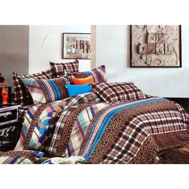 Lakshaya 100% Cotton Double Bedsheet With 2 Pillow Covers-LE-012