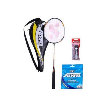 Silver's Pack of 1 Legend Badminton Combo Kit - Multicolor