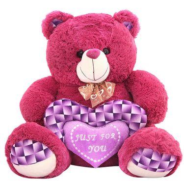 Valentine stuff Grape Bear 40 cm - Purple
