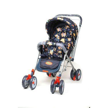 Pram Stroller Foldable Assorted Colour