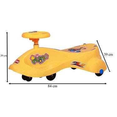 Kids Best Swing Car Orange