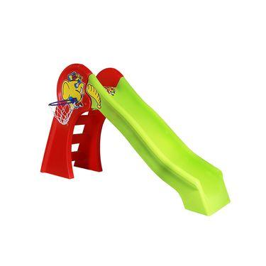 Playtool Big Slider with Basket Ball Net- 121 cms