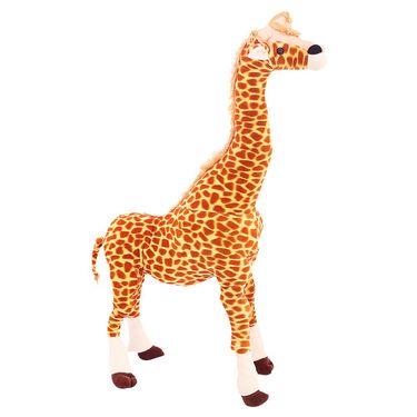 Standing Giraffe Stuff 60 Cms - Brown