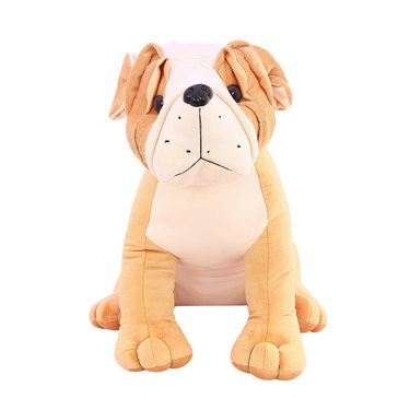 Cute Pug 30 Cms Stuff Toy - Brown