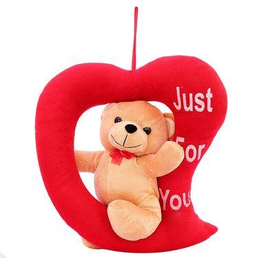LovingHeart Bear Valentine Stuff Teddy - Brown