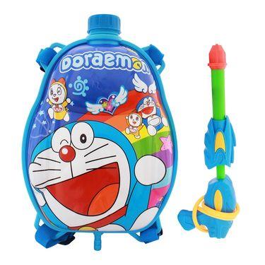 Holi Water Pichkari Back Pack Cartoon Tank Squirter F27 - Blue