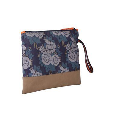 Be For Bag Canvas Slip Case Blue -Leslie