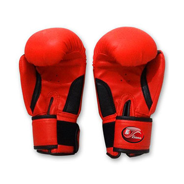 Liana Punching Gloves (Moulded) - Red