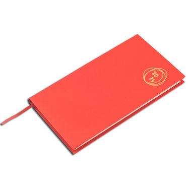 2014 Diary - Livtek Pocket Portrait Tomato - Red