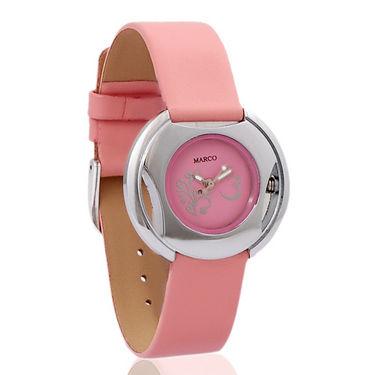 Marco Wrist Watch for Women - Pink_MR-LR004-PNK-PNK