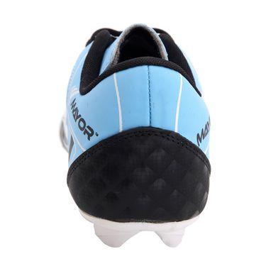 Mayor Black - Sky Blue Fiero Football Studs - 9