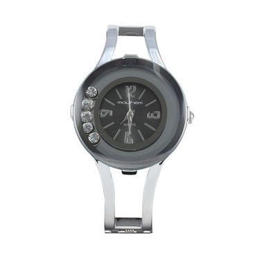 Mayhem Analog Round Dial Watch_Ma2929 - Grey