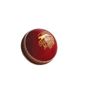 Slazenger Match 4 Piece Leather Cricket Ball