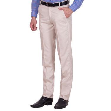 Tiger Grid Pack of 2 Cotton Formal Trouser For Men_Md026