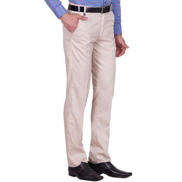 Tiger Grid Pack of 2 Cotton Formal Trouser For Men_Md036