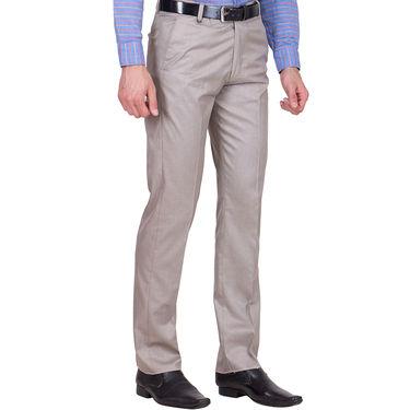 Tiger Grid Pack of 3 Cotton Formal Trouser For Men_Md048