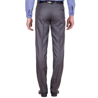 Tiger Grid Pack of 3 Cotton Formal Trouser For Men_Md055