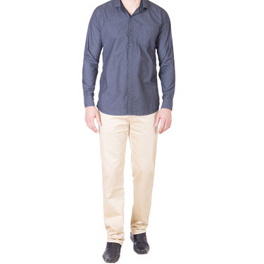 Cliths Cotton Shirts For Men_Md065 - Grey