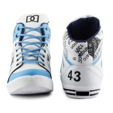 Big Wing Synthetic Leather Sneaker Shoes -131