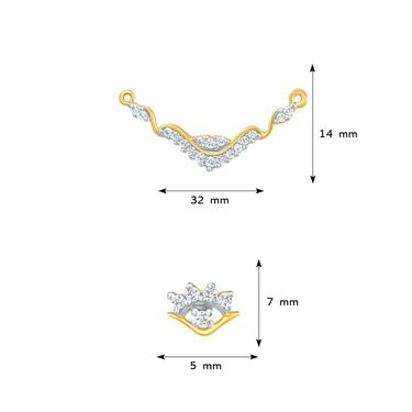 Mahi CZ Gold Plated Mangalsutra Set_Nl1101438g