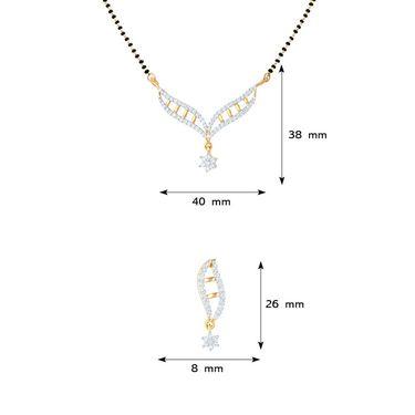 Mahi CZ Gold Plated Mangalsutra Set_Nl1101550g2