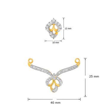 Mahi CZ Gold Plated Mangalsutra Set_Nl1101942g2