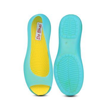 Do Bhai EVA Flip Flops Neon-1-Blue