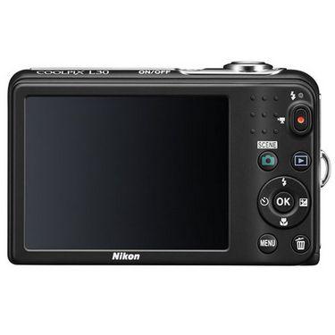 Combo of Nikon Coolpix L30 Digital Camera and Fotonica Lenspen Lens Cleaner  - Black