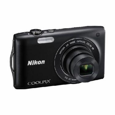 Nikon Coolpix S3300 Digital Camera - Black