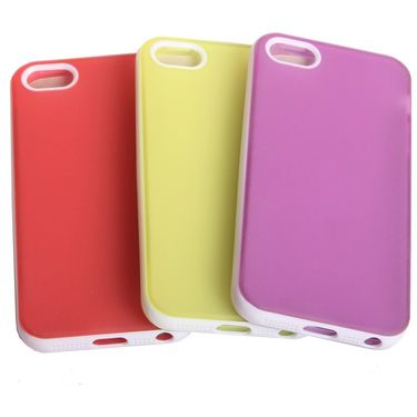 Callmate Pudding Case 3 pack Combo for iPhone 5/5s - Multicolor