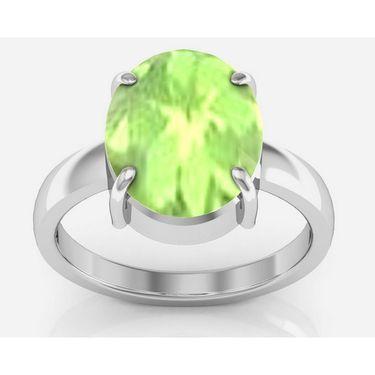 Kiara Jewellery Certified Peridot 3.0 cts & 3.25 Ratti Peridot Ring_Peridotrw3