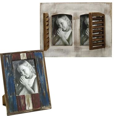 Pack of 2 Wooden Photoframes with Matte Finish-PF1403_PF1415