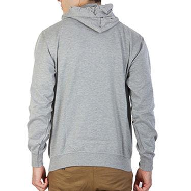 Printland Full Sleeves Cotton Hoodies_Pg1127 - Grey