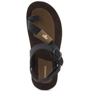Provogue Mens Floater Sandals Pv1082-Black
