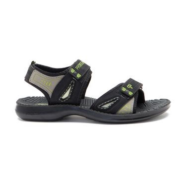 Provogue Mens Floater Sandals Pv1105-Black