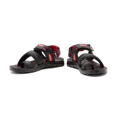 Provogue Mens Floater Sandals Pv1108-Red & Black