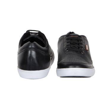 Provogue Black Casual Shoes -yp07