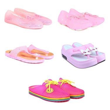 Pack of 5 Womens Footwear -ts07