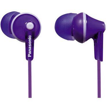 Panasonic RP-HJE125 In-Ear Canal Headphone - Violet