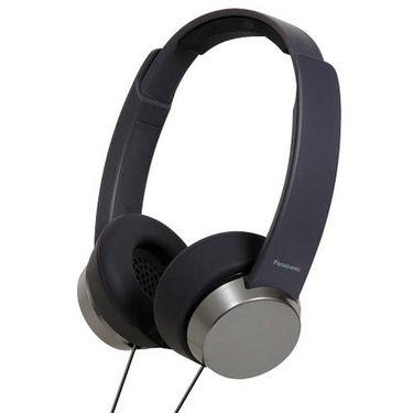 Panasonic RP-HXD3WE On-Ear Canal Headphone - Black