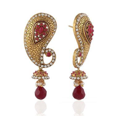 Panini Designer Dangle Earrings - Multicolour _ B-57